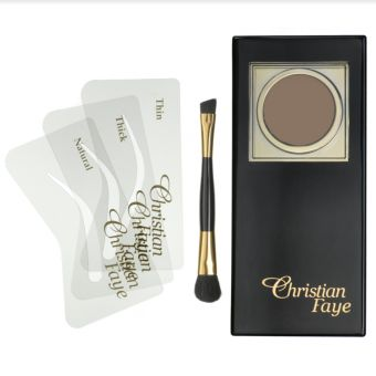 Christian  Christian Faye Eyebrow Powder Irid Brown