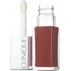 Clinique Lipgloss Pop Lacquer · 01 Cocoa · Lip Colour + Primer