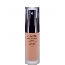 Shiseido Synchro Skin Lasting · 03 Rose · Liquid Foundation SPF20
