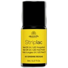 Alessandro StripLac 65 Sunshine Reggae Peel-Off UV- / LED-nagellak