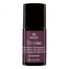 Alessandro StripLac 126 Velvet Red Led Nagellak
