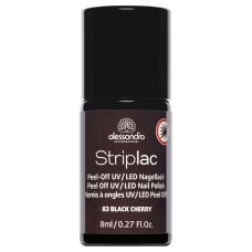 Alessandro Striplac 183 Black Cherry Led Nagellak