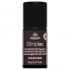 Alessandro Striplac 083 Black Cherry Led Nagellak