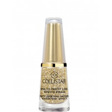 COLLISTAR NAIL LACQUER 618 GOLD RHINESTONE EFFECT