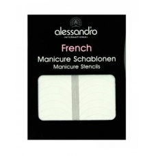 Alessandro French Manicure Stencils - Templates