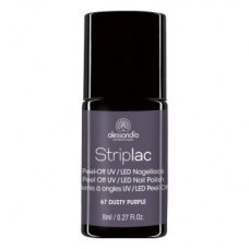 Alessandro StripLac 67 Dusty Purple Led Nagellak
