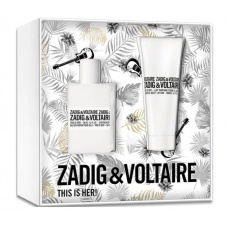 Zadig en Voltaire this is her Eau de Parfum set