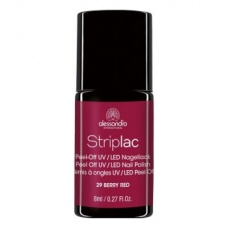 Alessandro Striplac 129 Berry Red Led Nagellak