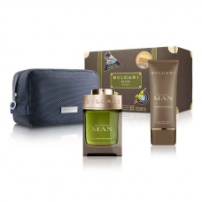 Bvlgari Man Wood Essence Eau De Parfum Set