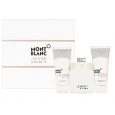 Mont Blanc legend spirit Eau de Toilett set