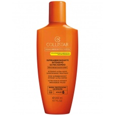 Collistar Intensive Ultra Rapid Supertanning Treatment Spf6