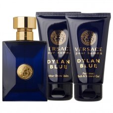 Versace Dylan Blue Eau De Toilette Showergel After Shave Balm