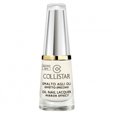 Collistar Oil Nail Lacquer 302 Bianco Latte Mirror