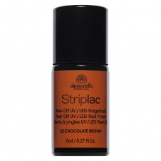 Alessandro StripLac 122 Chocolate Brown Led Nagellak