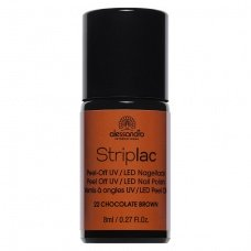 Alessandro StripLac 22 Chocolate Brown Led Nagellak