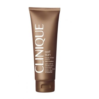Clinique Clinique Self Sun Body Tinted Lotion  Light - Medium