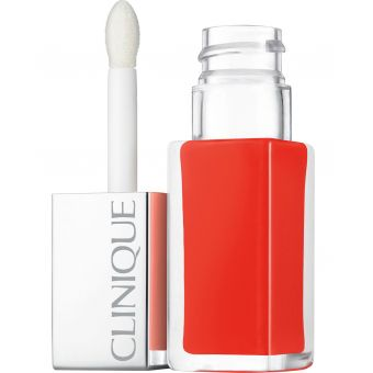Clinique Clinique Lipgloss Pop Lacquer · 03 Happy · Lip Colour + Primer