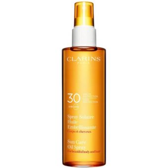 Clarins Clarins Solaire Spray Huile Embelissante Spf 30  UvB UvA