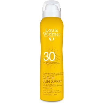 Louis Widmer Louis Widmer Clear Sun Spray Spf 30 met Parfum