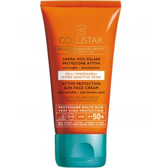 Collistar Collistar Hyper-Sensitive Skins Active Protection Sun Face Cream