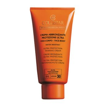 Collistar Collistar SPF30 Ultra Protection Tanning Cream Zonbescherming