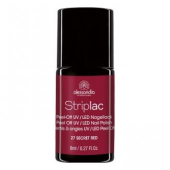 Alessandro Alessandro Striplac 27 Secret Red Led Nagellak