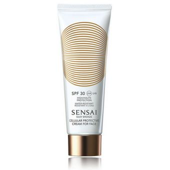 Sensai Sensai Silky Bronze Spf30 Cellulair Protective Cream For Face