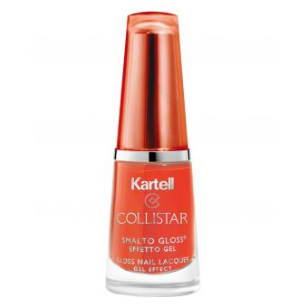 Collistar Collistar 544 Pop Orange Gloss Nail Lacquer met Gel Effect