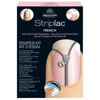 Alessandro Alessandro Striplac French Manicure Starters Kit