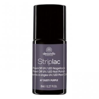 Alessandro Alessandro StripLac 67 Dusty Purple Led Nagellak