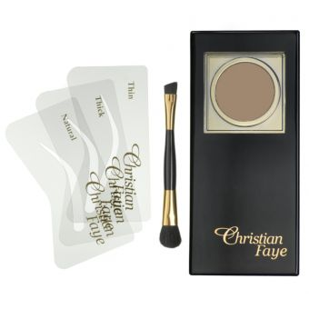 Christian Christian Faye Eyebrow Powder Dark Brown
