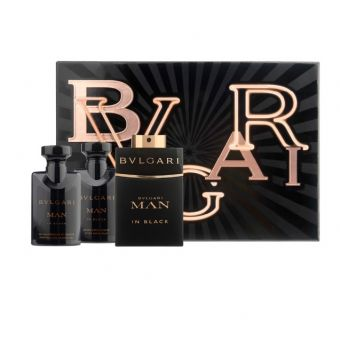 Bvlgari Bvlgari Man in Black Eau De Parfum Set