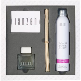 Janzen Janzen Body 069 Fushsia set