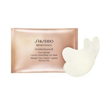 Shiseido Shiseido Benefiance WrinkleResist24 Pure Retinol Express Smoothing Eye Mask