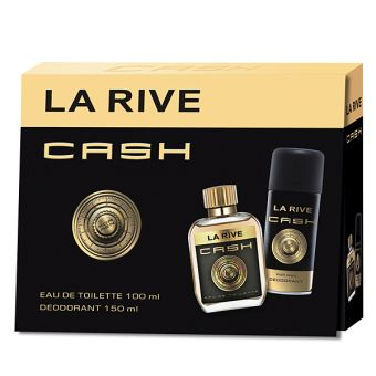 La Rive La Rive Cash For Him Eau de Toilette set