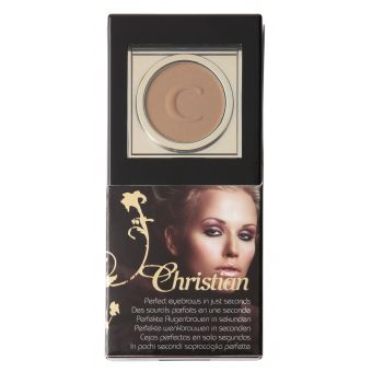 Christian Christian Dark Brown Semi Permanente Wenkbrauw Make Up