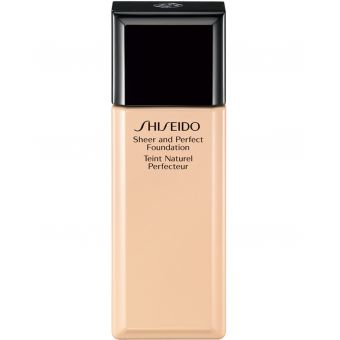 Shiseido Sheer and Perfect Foundation I40