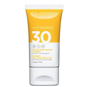 Clarins Clarins Invisible Sun Care Gel-to-Oil Face SPF30