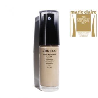 Shiseido Shiseido Synchro Skin Glow Luminizing Fluid Foundation 002 Neutral