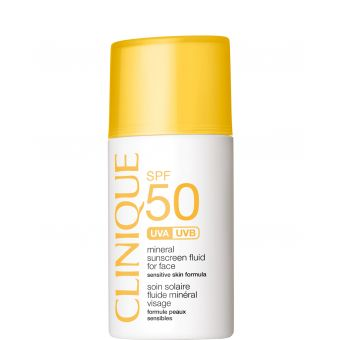 Clinique Clinique Mineral Sunscreen SPF 50 Fluid For Face