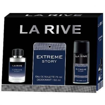 La Rive La Rive Extreme Story For Him Eau de Toilette set