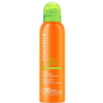 Lancaster Lancaster Sun Sport Body SPF 30 Cooling Invisible Mist Wet Skin Application