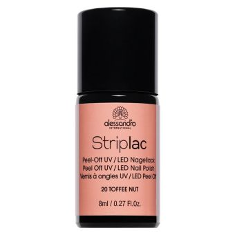 Alessandro Alessandro Striplac 20 Toffee Nut Led Nagellak