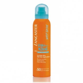 Lancaster Lancaster Sun Kids Spf 50 Invisible Mist Wet Skin Application