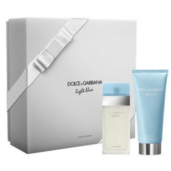 Dolce & Gabbana (D&G) Dolce & Gabbana Light Blue Eau De Toilette Set